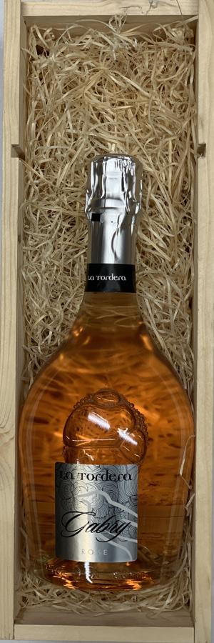 Vino Spumante Rosé Brut <br> Gábry